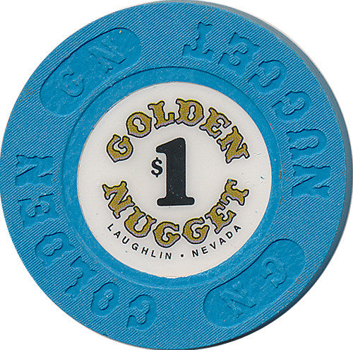 Golden Nugget, Laughlin NV $1 Casino Chip - Spinettis Gaming - 1