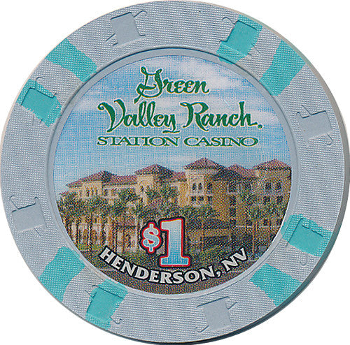 Green Valley Ranch, Henderson NV $1 Casino Chip - Spinettis Gaming - 2