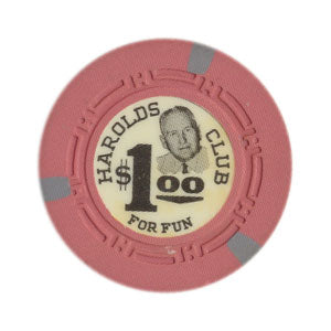 Harolds Club Casino Reno $1 Chip 1964 Ray A. Smith