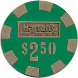 Harrah's $2.50 green chip - Spinettis Gaming - 1