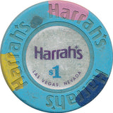 Harrah's, Las Vegas NV $1 Casino Chip - Spinettis Gaming - 1