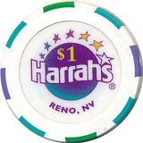 Harrah's, Reno NV $1 Casino Chip - Spinettis Gaming - 1