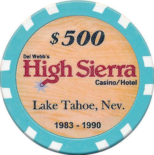 High Sierra $500 Chip - Spinettis Gaming - 1