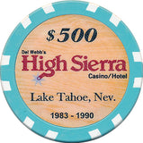 High Sierra $500 Chip - Spinettis Gaming - 2