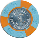 Holiday International, Las Vegas NV $1 Casino Chip - Spinettis Gaming - 1