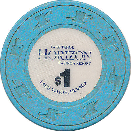 Horizon, Lake Tahoe NV $1 Casino Chip - Spinettis Gaming - 1