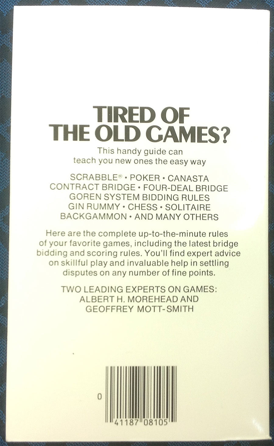 Hoyles Rules Of Games Play According To Hoyle Book Spinettis