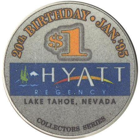 Hyatt Regency $1 (grey) chip
