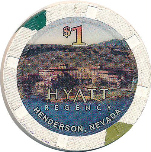 Hyatt Regency, Henderson NV $1 Casino Chip - Spinettis Gaming - 1