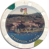 Hyatt Regency, Henderson NV $1 Casino Chip - Spinettis Gaming - 2