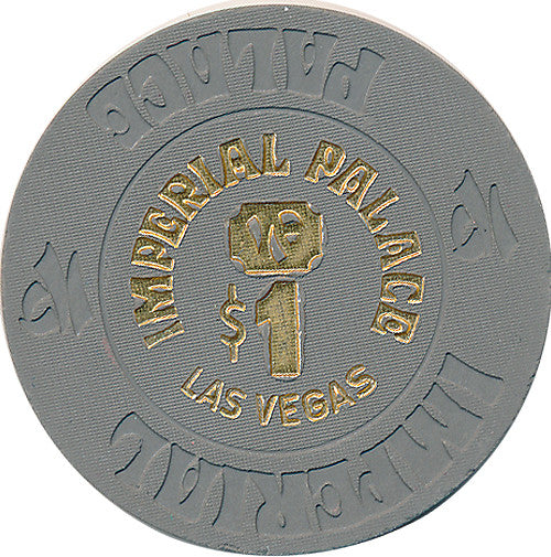 Imperial Palace, Las Vegas NV $1 Casino Chip - Spinettis Gaming - 2