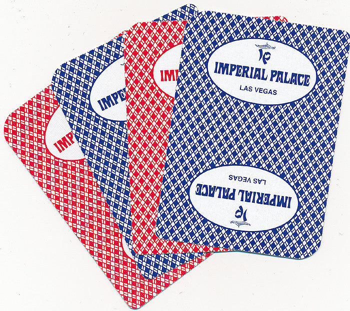 Imperial Palace Used Playing Cards - Spinettis Gaming - 1