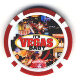 Las Vegas Sign Fantasy Chip - Spinettis Gaming - 4
