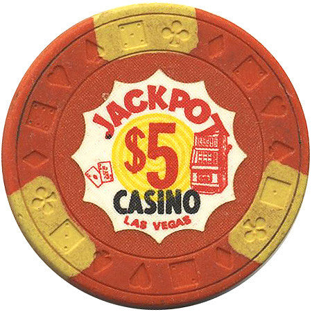 Jackpot $5 (orange) chip - Spinettis Gaming - 1