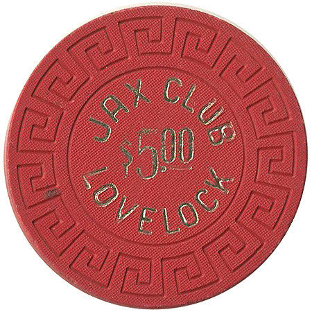 Jax Club $5 (Lovelock) chip