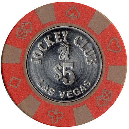 Jockey Club $5 chip - Spinettis Gaming - 1