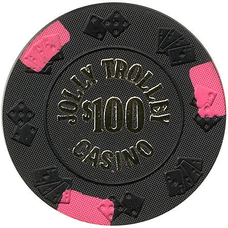 Jolly Trolley $100 chip