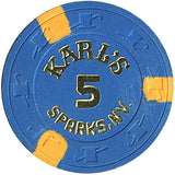 Karl's 5 (No Cash Value) chip - Spinettis Gaming - 2