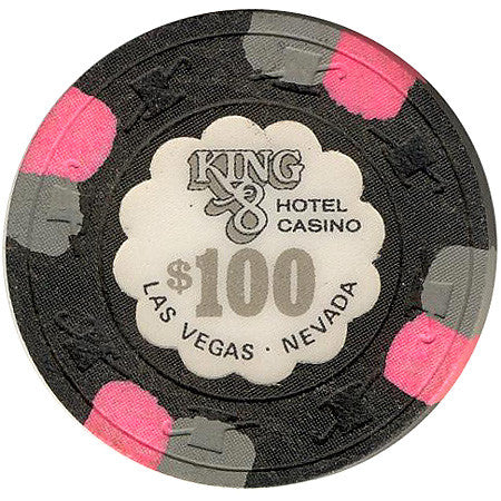 King 8 Casino $100 chip - Spinettis Gaming - 1