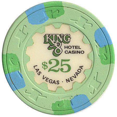 King 8 Casino $25 chip
