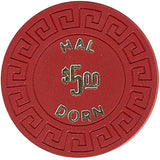 Hal Dorn $5 (red) chip - Spinettis Gaming - 2