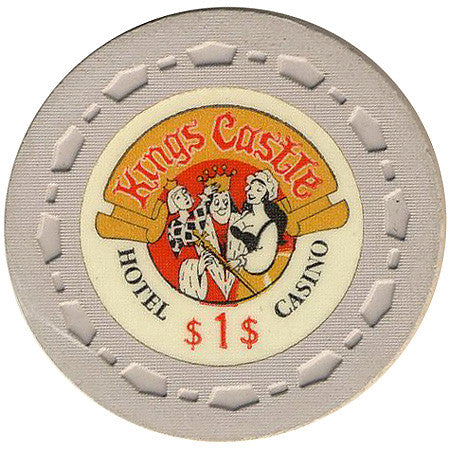 Kings Castle Casino Lake Tahoe NV $1 Chip 1970