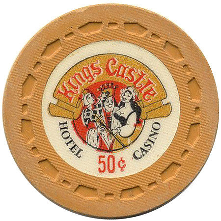 King Castle Casino 50cent (orange) chip