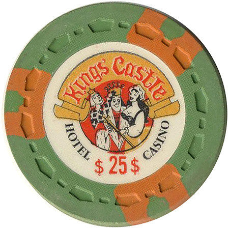 Kings Castle Casino Las Vegas NV $25 Chip 1970