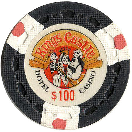 Kings Castle Casino Las Vegas NV $100 Chip 1970