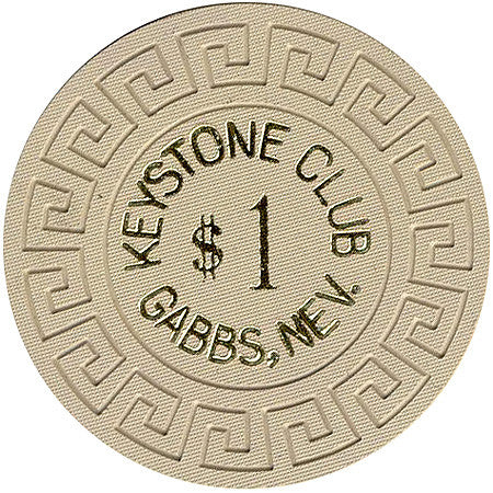 Keystone Club $1 chip