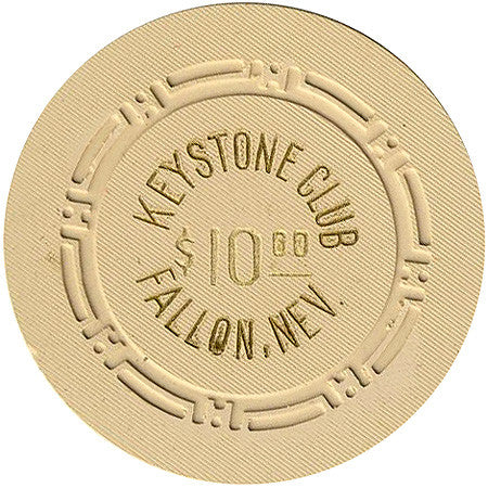 Keystone Club $10 chip