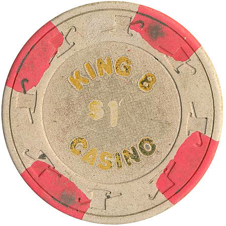King 8 Casino $1 chip