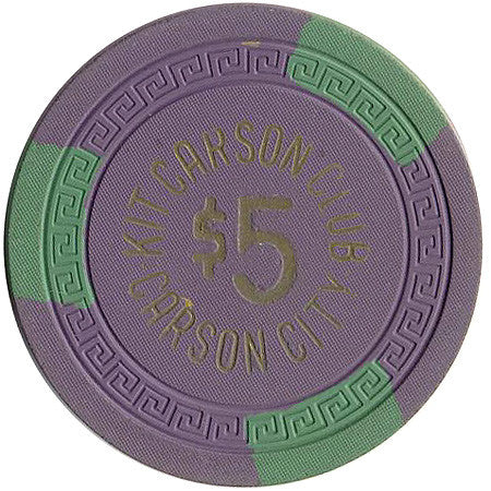 Kit Carson Club $5 chip
