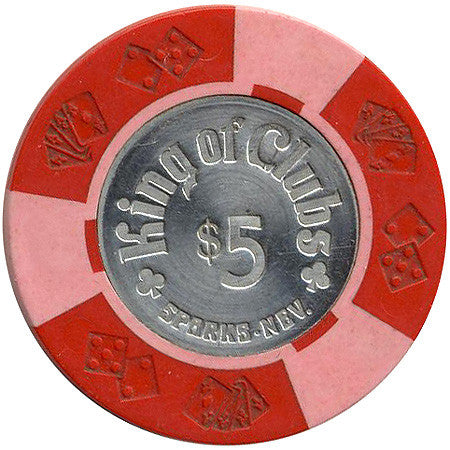 King of Clubs $5 chip
