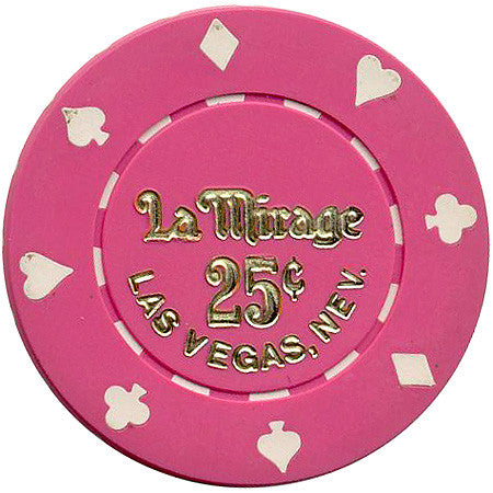 La Mirage Las Vegas 25cent chip - Spinettis Gaming