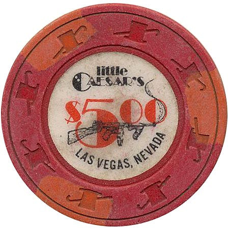 Little Caesars Casino Las Vegas Nv 5 Chip 1980s