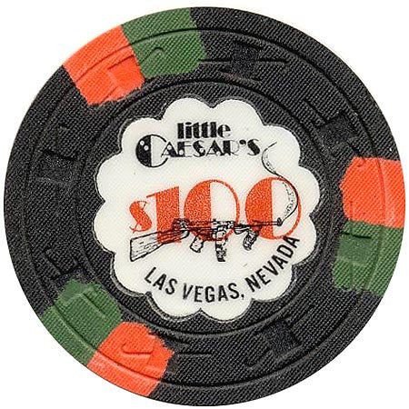 Little Caesars $100 chip - Spinettis Gaming - 1