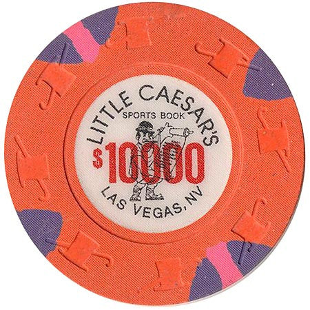 Little Caesars $10000 chip - Spinettis Gaming - 1