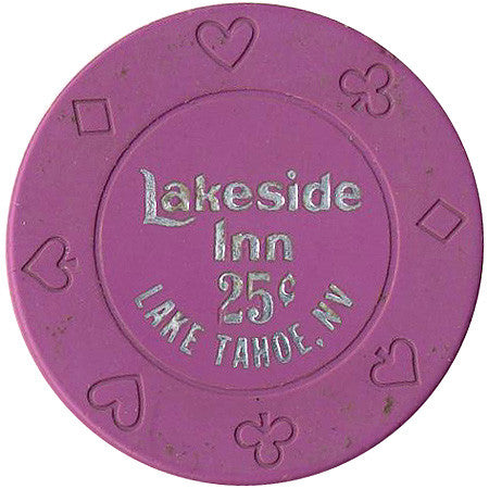Lakeside Inn Casino Lake Tahoe 25cent Chip 1991