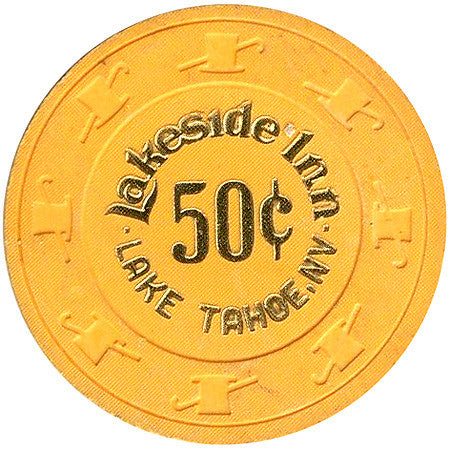 Lakeside Inn Casino Lake Tahoe 50cent Chip
