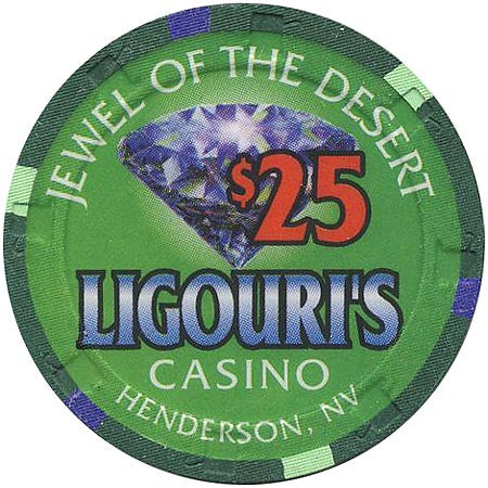 Ligouri's Casino $25 chip