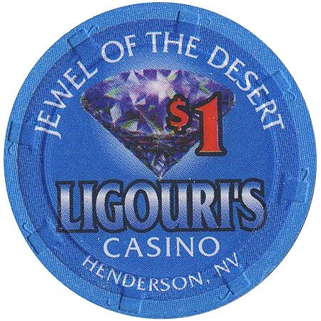 Ligouri's Casino $1 chip