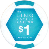 The Linq, Las Vegas NV $1 Casino Chip - Spinettis Gaming