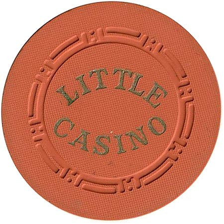 Little Casino $25 (orange) chip - Spinettis Gaming - 1