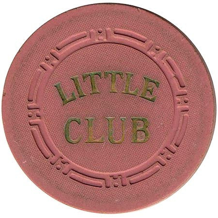 Little Club 25 (salmon) chip - Spinettis Gaming - 1