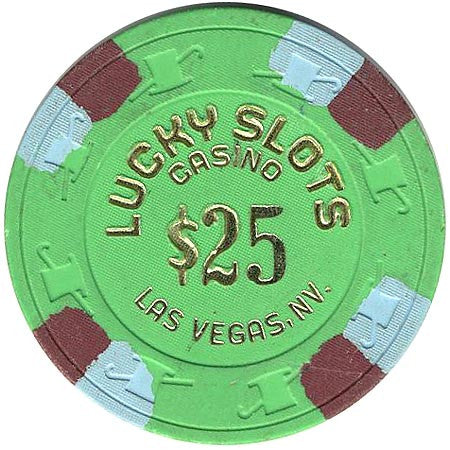 Lucky Slots Casino $25 chip - Spinettis Gaming - 1