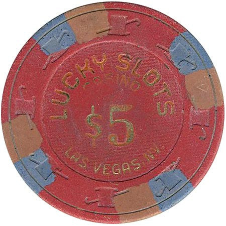 Lucky Slots Casino $5 chip