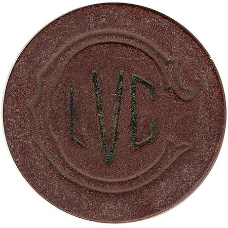 Las Vegas Club Casino $5 Chip 1930s