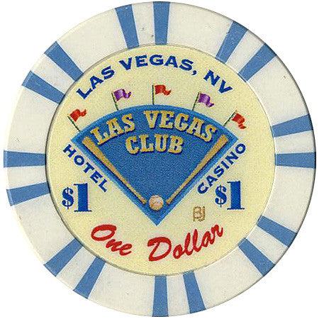Las Vegas Club Casino $1 Chip 2001