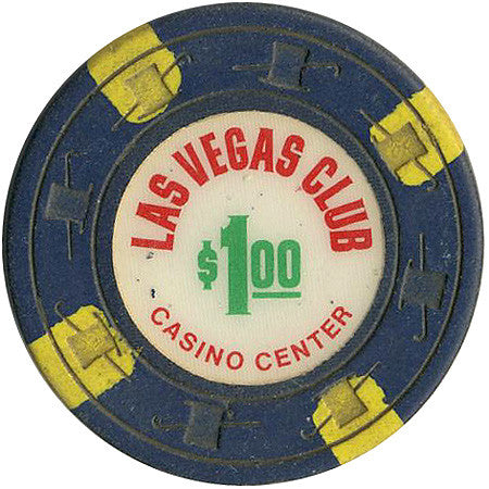 Las Vegas Club Casino $1 Chip 1968